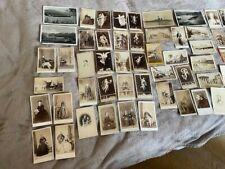 60 OLD VINTAGE POSTCARDS COLLECTION