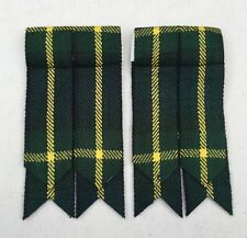 Men's Kilt Sock Flashes Gordon Tartan/Kilt Hose Flashes Gordon Tartan
