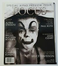 2008 APR FOCUS MAGAZINE - FINE ART PHOTOGRAPHY - VINTAGE ALFRED STIEGLITZ