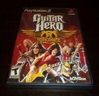 Guitar Hero: Aerosmith (Sony PlayStation 2 PS2, 2008)