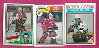 1982 -1983 - 1984 OPC DEVILS GLENN RESCH  GOALIE CARD   (INV# C2109)