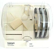 Cuisinart Locking Blade and Disc Holder + Stem DLC8, Dough Attachment + 3 Discs