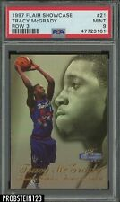 1997 Flair Showcase Row 3 #21 TRACY MCGRADY RC PSA 9 MINT (Pristine)