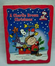 Peanuts A CHARLIE BROWN CHRISTMAS by Charles Schulz Hardcover BOARD BOOK