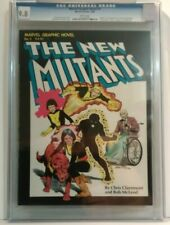 Marvel Graphic Novel #4 CGC 9.8 first appearance New Mutants