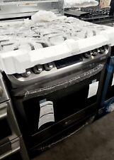 New Lg Slide-In Gas Range ProBake Convection Oven Black Stainless Lsg4513B
