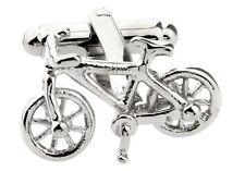 Bike Bicycle Cufflinks Cycle Triathlon Wedding Fancy Gift Box Free Ship USA