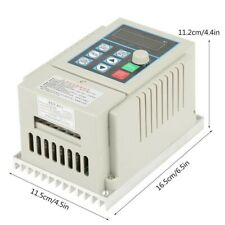 Phase Variable Frequency Drive Single Universal Vfd 045kw 3 Phase Ac 220