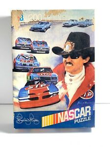 Richard Petty NASCAR Puzzle Vintage 1991 New In Sealed Box 200 Piece MB