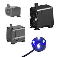 Hidom Water Pump for Water Feature Pond Fish Tank Sump Brackish Vivarium Opt LED