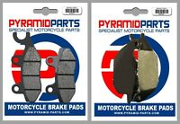 Front & Rear Brake Pads for Honda XL125 Varadero 01-11