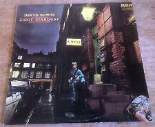 DAVID BOWIE ziggy stardust 1972 UK RCA VICTOR 6E/4E + INNER GEM/NO MAINMAN VINYL