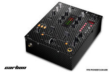 Skin Decal Wrap for PIONEER DJM-400 DJ Mixer CD Pro Audio DJM400 Parts CARBON