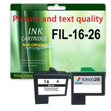 2 Ink For X1250 X2240 X2250 X1190 X1180 X74 X75 Z515 X1270 X2230 Lexmark 16/17