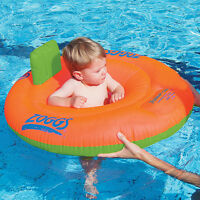 ZOGGS TRAINER SEAT Sz 1 baby ring inflatable 3-12 months Australia 303212
