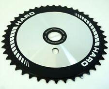 Retro Haro Team Disc Sprocket Chainring 44T Old School BMX Black Silver