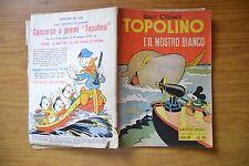 FUMETTO WALT DISNEY ALBO D' ORO SPECIALE TOPOLINO E IL MOSTRO BIANCO n. 35 36