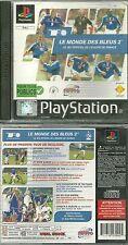 JEU PS1 - COUPE DU MONDE 98 / FOOTBALL BLEUS 2 / COMPLET/ PLAYSTATION 1. 2, 3, 4
