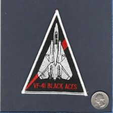 Original VF-41 BLACK ACES US NAVY F-14 Tomcat Fighter Squadron Shoulder Patch