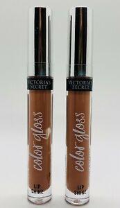 2-Pack Victoria's Secret BARE Color Shine Lip Gloss 3.1 g 0.11 oz Each
