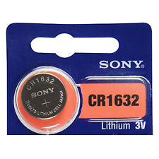 Sony CR1632 3V Pila Batteria Cell Coin replace CR BR DL ECR KCR LM ML 1632
