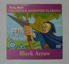 BLACK ARROW CHILDREN'S ANIMATED CLASSICS DAILY MAIL DVD PROMO VGC FREE P&P