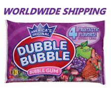 Dubble Bubble Fruitastic Flavors Bubble Gum 16 Oz WORLDWIDE SHIPPING