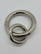 Pottery Barn Round Rings, 13 Qty Curtain Drape Rings, Small, Nickel