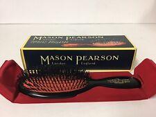 Mason Pearson B4 Pocket Size Bristle Dark Ruby Fine Hair Brush - Authentic