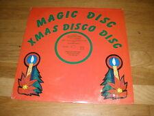 SANTA'S DISCO BAND santa claus is coming to town Christmas LP RECORD - Sealed