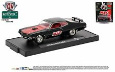 1:64 M2 Machines DRIVERS R42 = MSD Black 1970 Ford Torino Cobra *NIP*