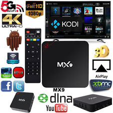MX9 4K 2K 1080P Smart TV BOX XBMC/Kodi H.265 Android Quad Core WiFi Mini PC