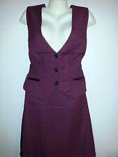 NEW Ashley Stewart 2-PC Red & Black Skirt Set Size 18