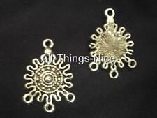 Lustre 27 mm Dangle Boucles d'oreilles Blanks Inca Fashion Jewellery Making Findings 30