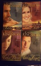 Karen Kingsbury, Above the Line Series, Lot of 4 TPB, Take One-Take Four