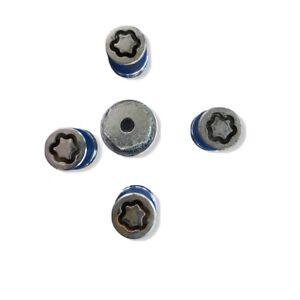 Honda Mcgard  19 mm Wheel Lock Set, 4 locks, Key Bag Genuine OEM  Pre-owned