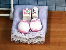 Lavender Wash Accessories, Dolls House Miniatures 1.12 Scale Bathroom Accessory