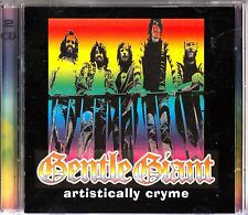 GENTLE GIANT Artistically Cryme 2-CD Prog Rock LIVE in Sweden 1976