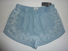 ABERCROMBIE & FITCH Blue Shorts Size XS NWT