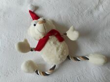 Pets at Home Christmas Fluffy Dog Toy Fluffy Chew Toy