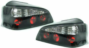 PEUGEOT 106 SMOKED / BLACK TAIL LIGHTS REAR LAMPS 1996+