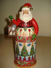 Jim Shore Santa Brighten The Season With Lantern 4019788