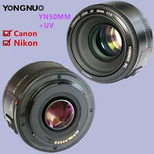 YONGNUO YN EF 50MM F1.8 Auto & manual Focus Lens for Canon EF Mount EOS Nikon