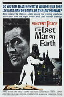 G4308 Last Man On Earth Vincent Price Movie VHS Vintage Laminated Poster FR