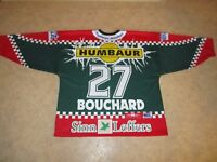 Augsburger Panther Original Eishockey Trikot 2002/03 + Nr.27 Bouchard Gr.XL- XXL