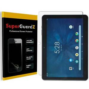 """3X SuperGuardZ Clear Screen Protector Guard Shield Film Cover For Onn Surf 10.1"""""""
