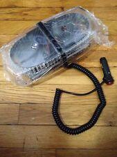 Oval 12V 240 LED Emergency Hazard Warning /Mini Bar Strobe Light -Magnetic Base
