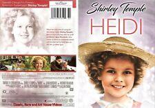 Heidi ~ New DVD ~ Shirley Temple, Jean Hersholt (1937)