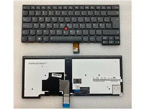 Lenovo T440 T440p T440s T450 T460 Backlit Keyboard Norwegian