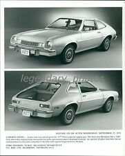 1976 Ford 1977 Sporty Pinto Original News Service Photo